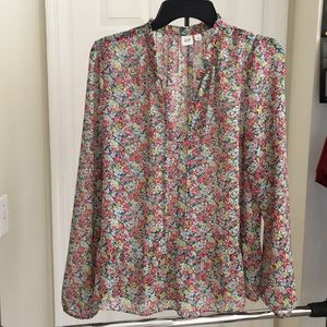 Gap Flower Blouse